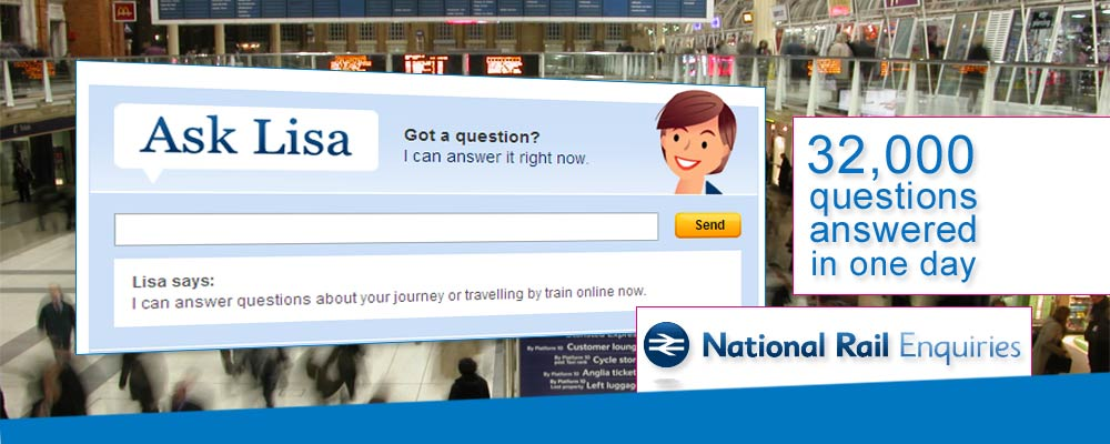 National Rail Enquiries - Ask Lisa