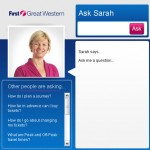 First Great Western - Sarah